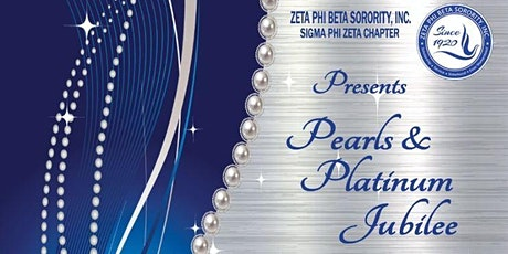 Zeta Phi Beta Pearls & Platinum Jubilee Scholarship Fundraiser, Sat, 3/28/20 tickets