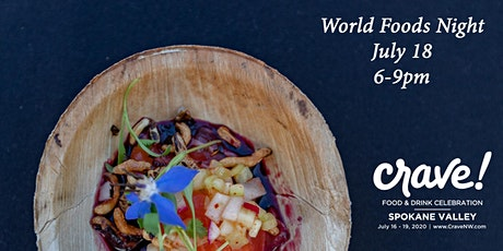 2020 Crave! Foods from Around the World tickets
