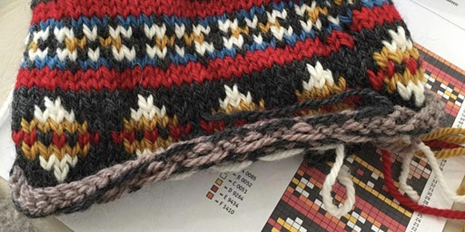 Introducing Fair Isle knitting