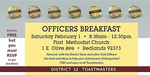 Officers Breakfast