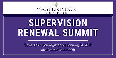 Supervision Summit tickets