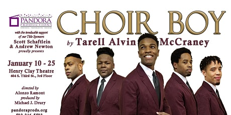 CHOIR BOY by Tarell Alvin McCraney || Sponsored by Scott Schaftlein and Andrew Newton tickets