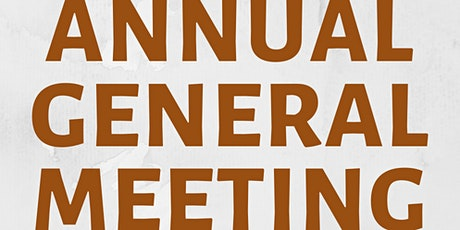TAWA Annual General Meeting tickets