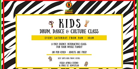 Kids & Family Drum, Dance & Culture Class tickets