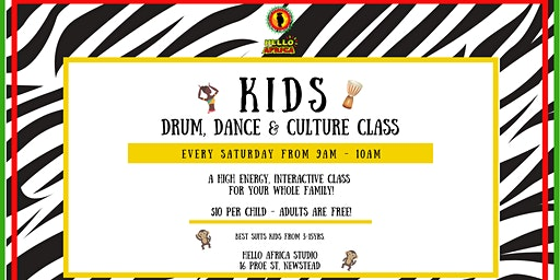 Kids & Family Drum, Dance & Culture Class