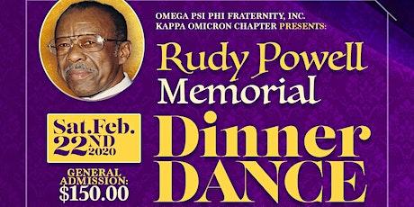 8th Annual Rudy Powell Memorial Dinner Dance 2020 tickets