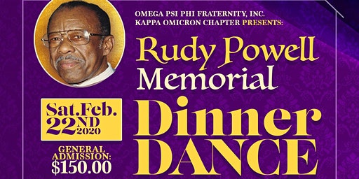 8th Annual Rudy Powell Memorial Dinner Dance 2020