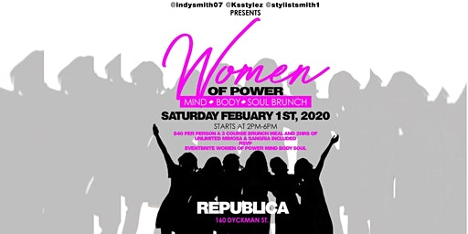 Women of Power Brunch- Mind, Body and Soul