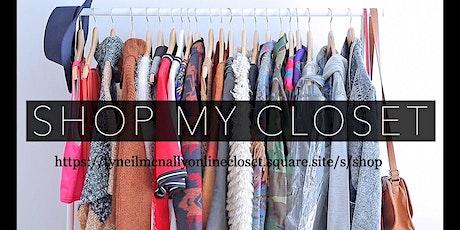 WOMEN'S CLOTHING/SHOES/MAKE UP ONLINE STORE  FEB 1 SATURDAY  biglietti