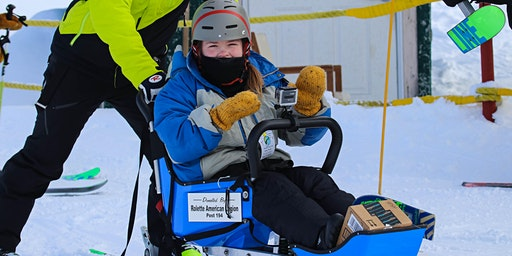 Adaptive Skiing/Snowboarding and Tubing at Bottineau Winter Park