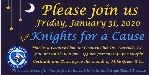 Knight for a Cause