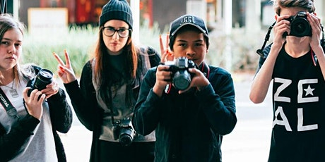 Level Up - Summer Series:  Beginner Photography Workshop - Ages 15-24 years tickets