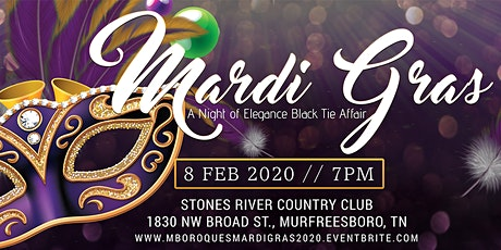 PGG Foundation & Murfreesboro Ques Presents.......Mardi Gras 2020 tickets