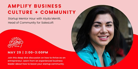 Supercharge Community at Your Startup ⚡Mentor Hour with Aly Merritt tickets