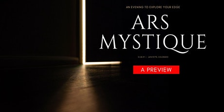 ARS MYSTIQUE PREVIEW EVENT— A Shamanic Arts Party and Evening tickets