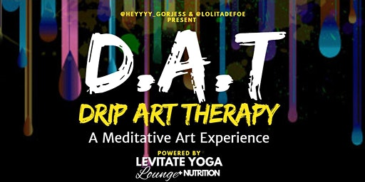 Drip Art Therapy