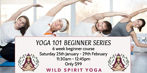 Yoga 101 - 6  Week Beginner Course *SOLD OUT*