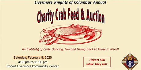 Knights of Columbus 47th Annual Charity Crab Feed tickets