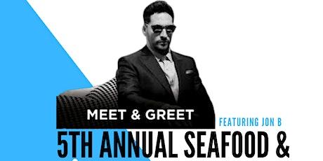 5 Annual Seafood & Jazz Festival Ft. Jon B. tickets