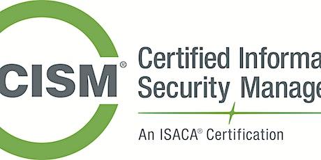 CISM Exam Review Course - February 2020 tickets