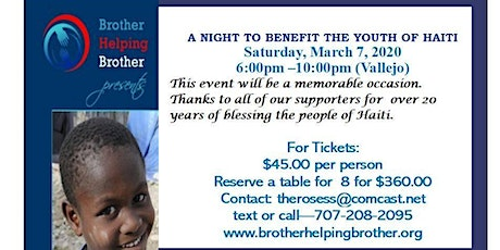A Night to Benefit Youth of Haiti tickets