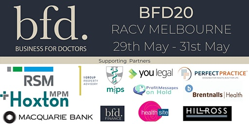 BFD Conference 2020 - Melbourne