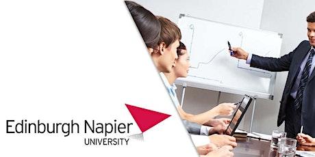 Edinburgh Napier University MBA Webinar Jordan - Meet University Professor tickets
