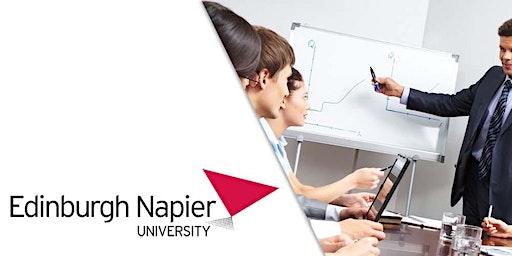 Edinburgh Napier University MBA Webinar Jordan - Meet University Professor