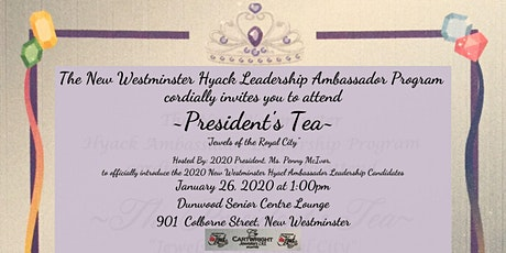 Hyack Festival Association 2020 President's Tea tickets