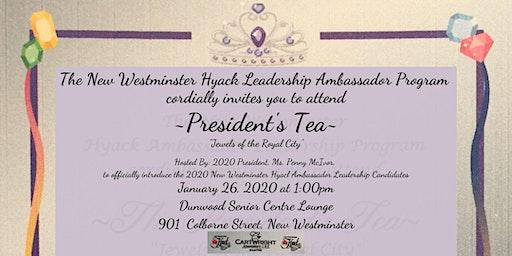 Hyack Festival Association 2020 President's Tea