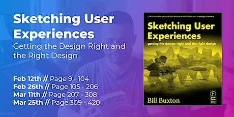 Sketching User Experiences (Part 3/4) // CPHUX Book Club tickets