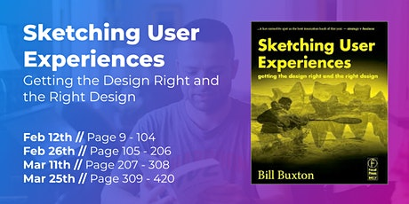 Sketching User Experiences (Part 4/4) // CPHUX Book Club Tickets