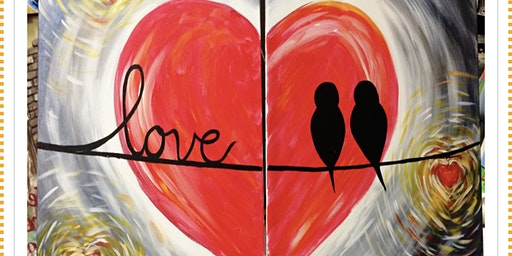 Double Love  Couples  Painting event special