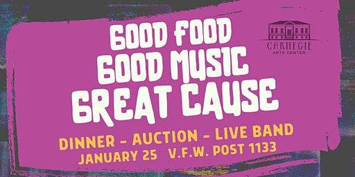Good Food, Good Music, Great Cause