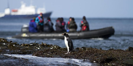 Small Ship Expedition Cruises with guest speaker, Aaron Russ from Heritage Expeditions tickets