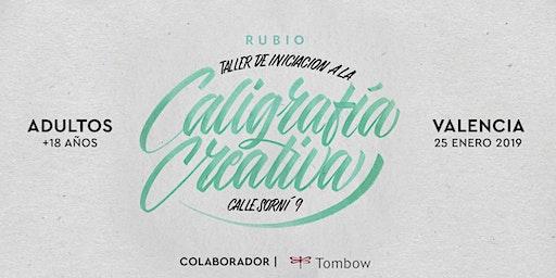 Taller de iniciación de Caligrafía Creativa. RUBIO - 25 ENERO  - Valencia