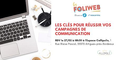 [Bordeaux] Les clés pour réussir votre campagne de communication billets