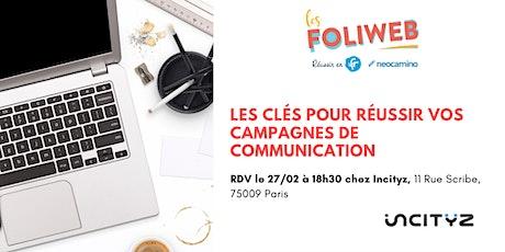 [Paris] Les clés pour réussir vos campagnes de communication billets