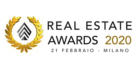 Real Estate Awards 2020 biglietti