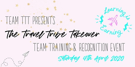 The Travel Tribe Takeover Training tickets