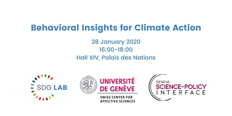 Behavioral Insights for Climate Action tickets