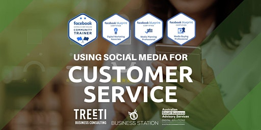 Using social media for customer service [Darwin]
