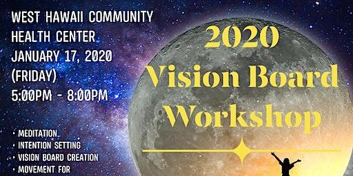 2020 NEW MOON MANIFEST VISION BOARD WORKSHOP