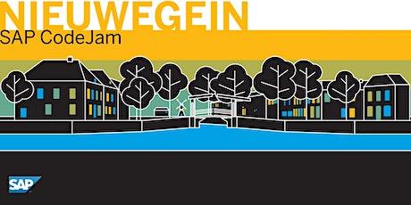 SAP CodeJam Nieuwegein tickets