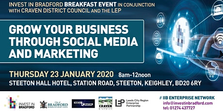 Grow your business through social media and marketing tickets