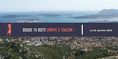 Lancement du réseau Bouge ta Boite à Toulon billets
