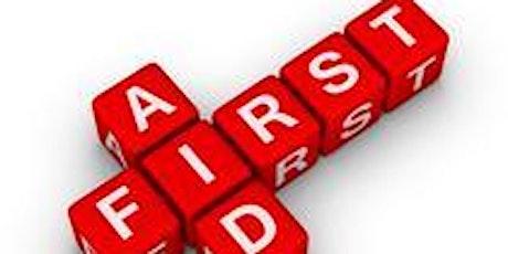 First Aid (Module 10) Bognor - Cancelled tickets