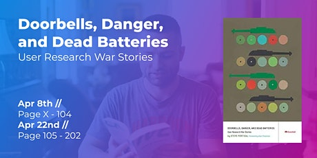 User Research War Stories (Part 1/2) // CPHUX Book Club tickets