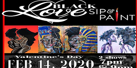 BLACK LOVE SIP AND PAINT tickets