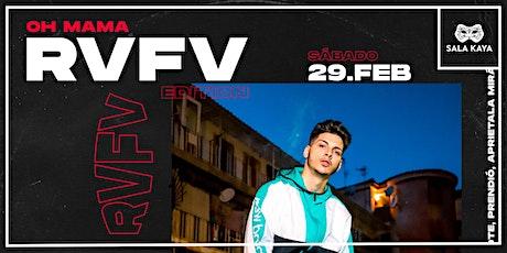 RVFV en concierto - Sala Kaya (Madrid) entradas